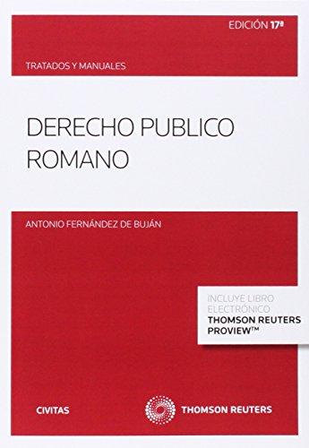9788447049417: DERECHO PUBLICO ROMANO (P+EB) 17'ED 2014