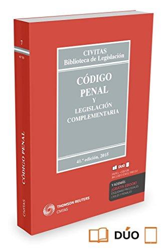 9788447051311: Código Penal Y Legislación Complementaria (Biblioteca de Legislación)