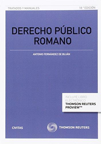 9788447052080: DERECHO PUBLICO ROMANO 18ED 2015 (P+EB)