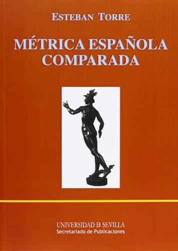 9788447205806: Métrica española comparada: 48 (Manuales Universitarios)