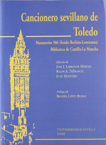 9788447209095: Cancionero Sevillano De Toledo (Serie Literatura)