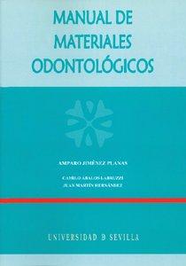 Manual de materiales odontológicos: Amparo Jiménez Planas;