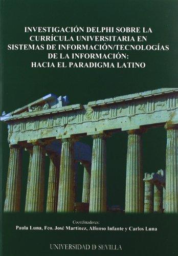INVESTIGACION DELPHI SOBRE LA CURRICULA: LUNA,P.-MARTINEZ,F.J.-INFANTE,A.-LUNA,C.