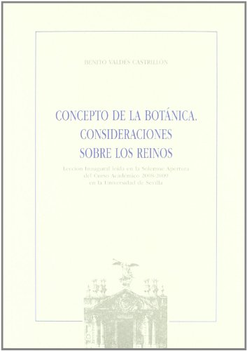CONCEPTO DE LA BOTANICA.: VALDES CASTRILLON, BENITO