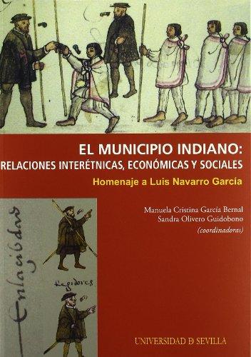 9788447211951: MUNICIPIO INDIANO, RELACIONES INTERETNIC
