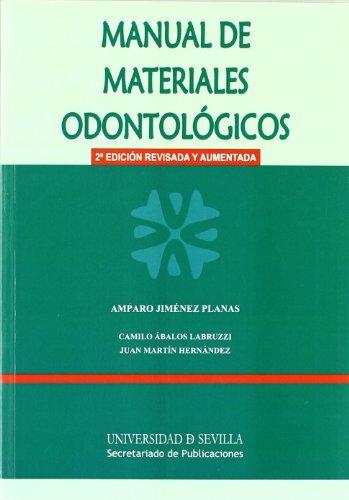 9788447213689: Manual de materiales odontológicos (Manuales Universitarios)