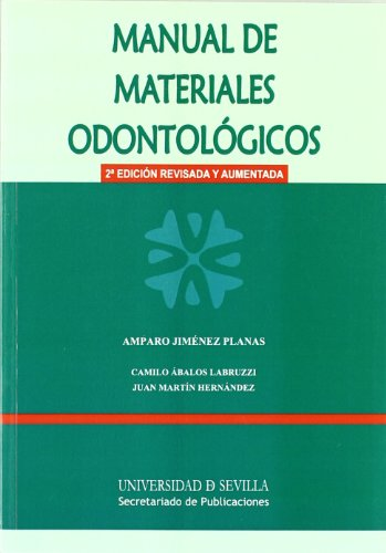 9788447213689: Manual de materiales odontológicos (2º ed)