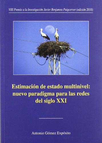 9788447213696: Estimación de estado multinivel: nuevo paradigma para las redes del siglo XXI (Premios Focus-Abengoa y Premio Javier Benjumea Puigcerver)
