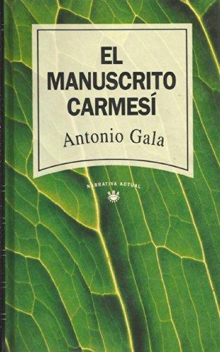 9788447300051: EL MANUSCRITO CARMESI