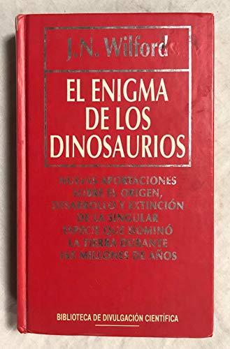 9788447301836: Enigma De Los Dinosaurios