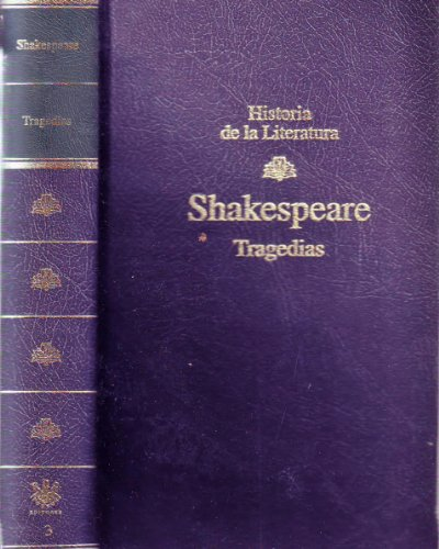 William Shakespeare, Tragedias.: VALVERDE José Maria