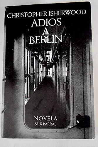 9788447306398: Adios A Berlin