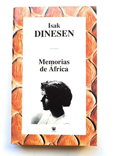 9788447308514: Memorias de Africa