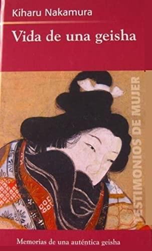 9788447320806: Vida de una geisha