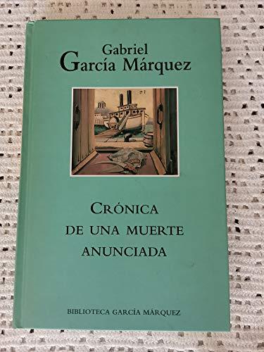 9788447333769: Crónica de una Muerte Anunciada
