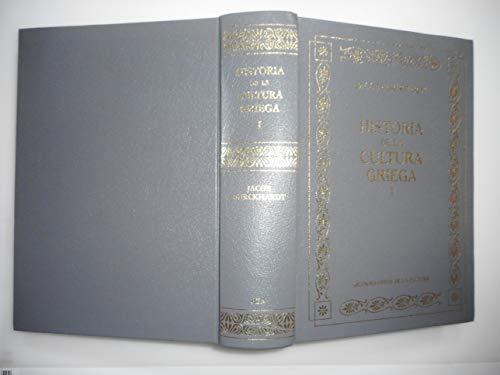 9788447338382: Historia De La Cultura Griega I