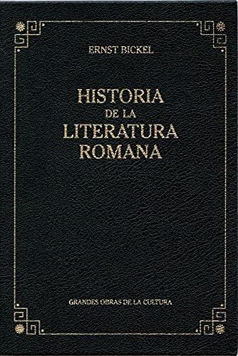 9788447342952: Historia de la literatura romana (2005)