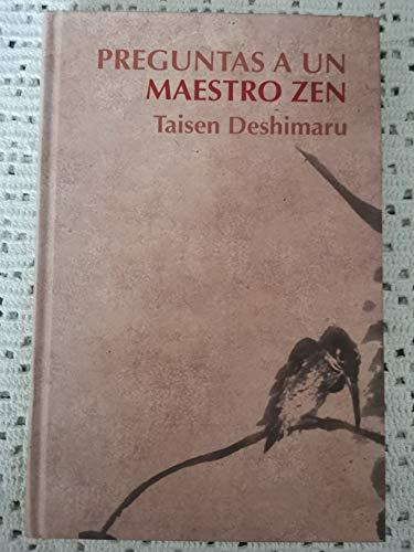 9788447345434: Preguntas A Un Maestro Zen