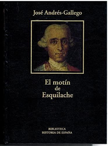9788447345601: El motín de Esquilache, América y Europa