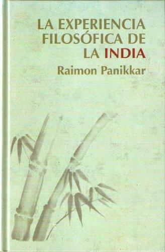 9788447350797: La experiencia filosófica de la India