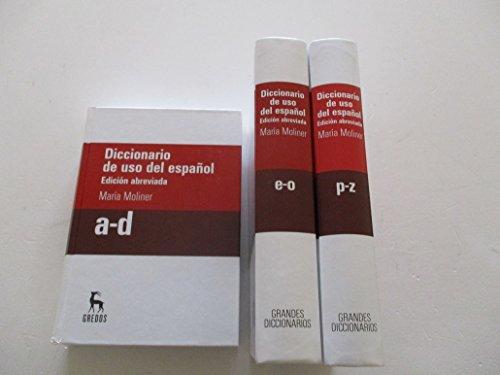 9788447358571: Diccionario de uso del español