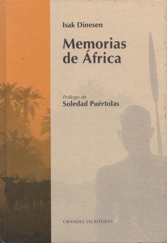 9788447360154: Memorias De África