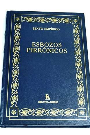 9788447362394: Esbozos Pirronicos