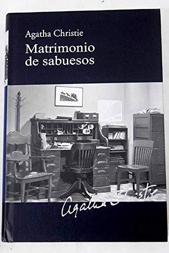 9788447369249: MATRIMONIO DE SABUESOS