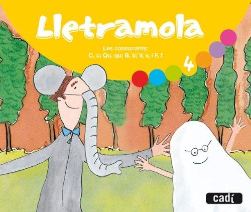 9788447401734: Lletramola 4 (català): Les consonants: C, c; Qu, qu; B, b; V, v, i F, f. - 9788447401734