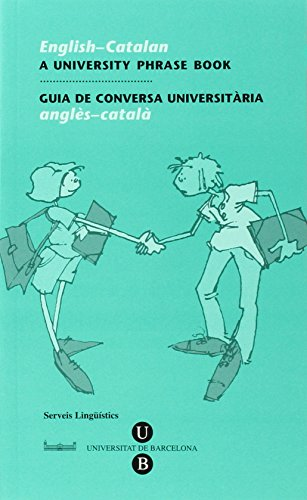 English-Catalan, A University Phrase Book: Catalan Language Service