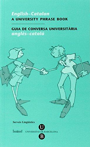 9788447523146: English-Catalan, A University Phrase Book