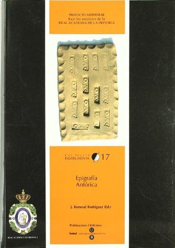 9788447528035: Epigrafa Anfrica
