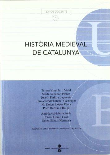 9788447529124: Història Medieval de Catalunya