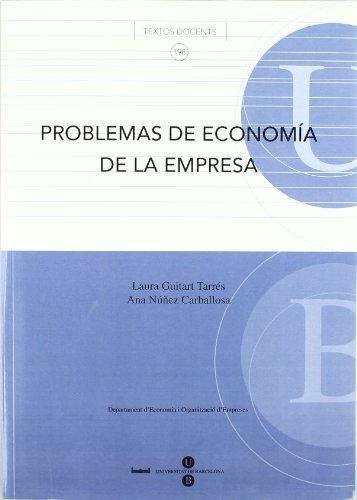 9788447530250: Problemas de economía de la empresa