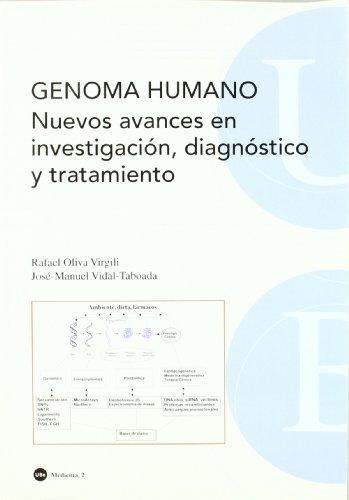 Genoma humano : nuevos avances en investigación,: Vidal Taboada, José