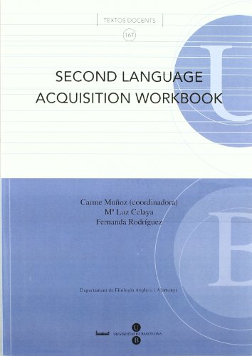9788447530571: Second language acquisition workbooK