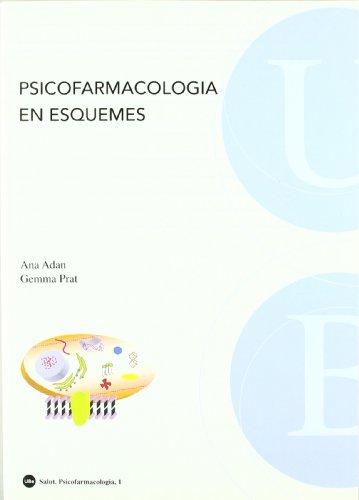 9788447532056: PSICOFARMACOLOGIA EN ESQUEMES (CATALA)