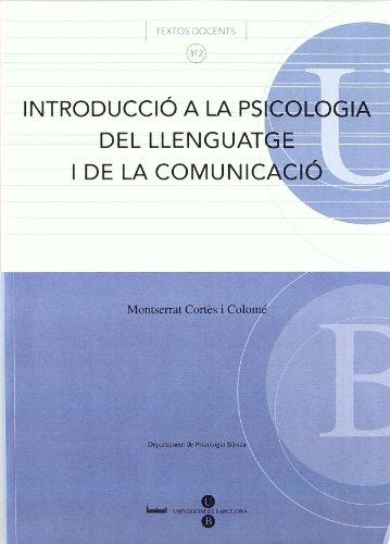 9788447533237: Introducció a la psicologia del llenguatge i de la comunicació