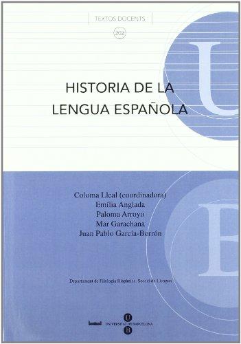9788447533923: Historia de la lengua española
