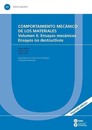 9788447537297: COMPORTAMIENTO MECÁNICO DE LOS MATERIALES