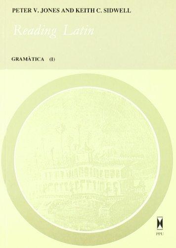 READING LATIN. GRAMATICA I (CATALAN) - Unknown.
