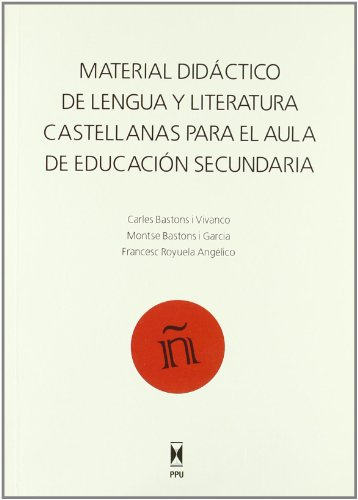 MATERIAL DIDACTICO DE LENGUA Y LITERATURA CASTELLANAS: Carles Bastons I