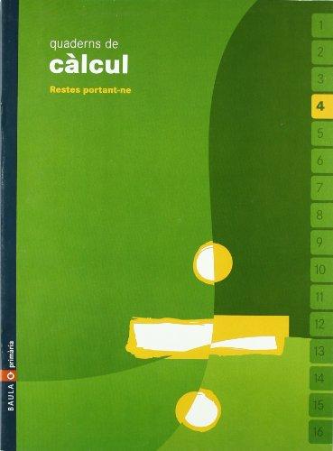 9788447914357: Quadern Calcul 4