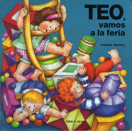 9788448002442: Teo, vamos a la feria (Tus Primeros Libros De Teo)