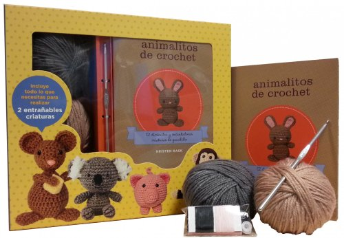 9788448008895: Kit Animalitos de crochet