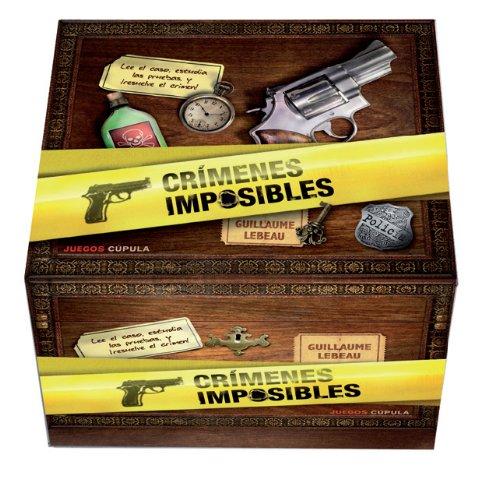 9788448011963: Crímenes imposibles (Juegos Cúpula)