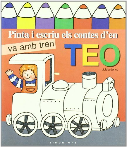 Pinta i escriu els cotes d'en Teo: Vv.Aa.