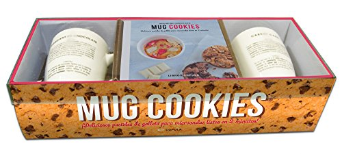 9788448021597: Kit Mug cookies: Deliciosos pasteles de galleta para microondas listos en 2 minutos