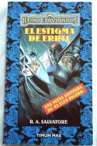 9788448037208: El Estigma De Errtu (Reinos Olvidados)