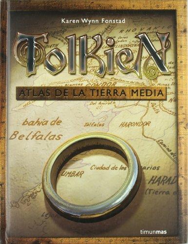 9788448049003: Tolkien - Atlas de La Tierra Media (Spanish Edition)